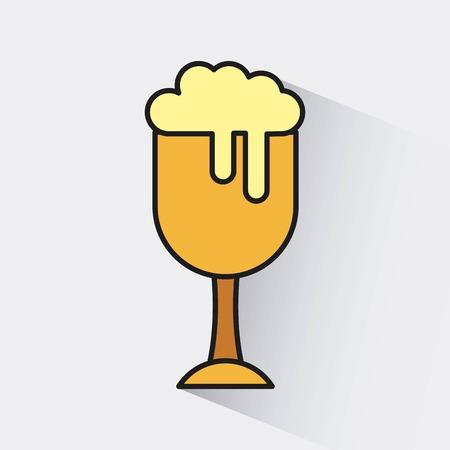 cold: cold beer design, vector illustration