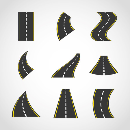 road traffic: road infographics design, vector illustration