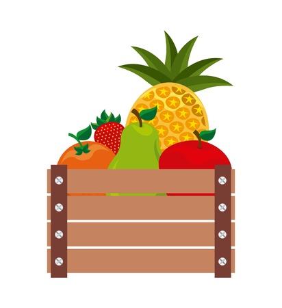 farm concept design, vector illustration