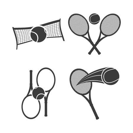 tenis: tennis emblem design, vector illustration