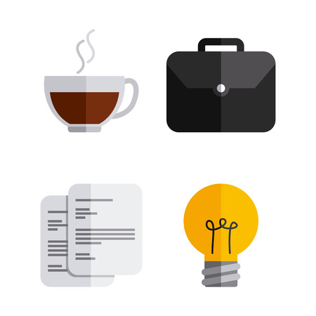 tax office: business icons design, vector illustration