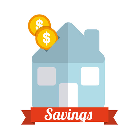 house exchange: money icon design, vector illustration