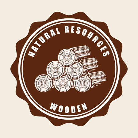 natural resources: natural resources design, vector illustration Illustration