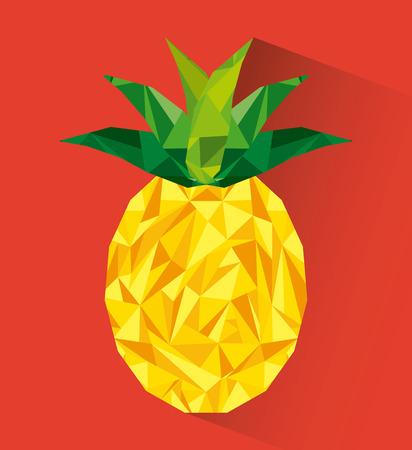 abstract fruit design, vector illustration