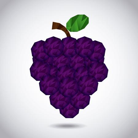 abstract fruit: dise�o de la fruta abstracta, ilustraci�n vectorial Vectores