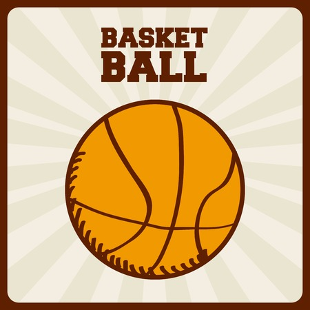 basketball sport design, vector illustration