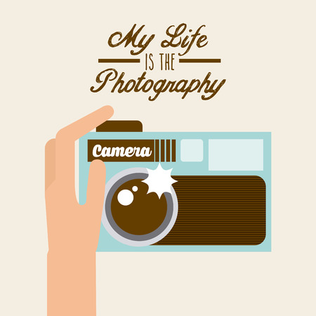 photographic: photographic icon design, vector illustration  Illustration