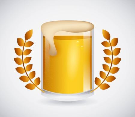 cold: cold beer design, vector illustration Illustration