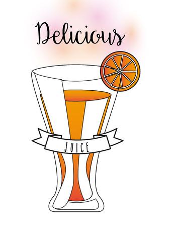 delicious: delicious drink design, vector illustration Illustration