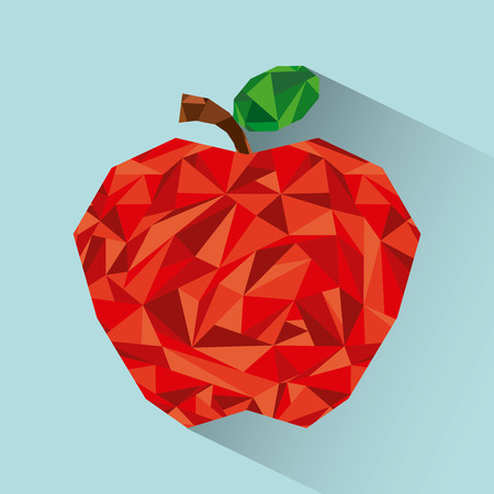 abstract fruit: abstract fruit design, vector illustration