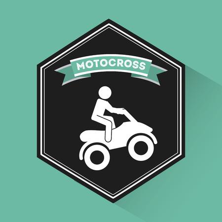 dangerouse: extreme sport design, vector illustration
