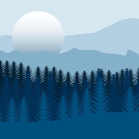 eps10: double exposure design, vector illustration eps10 graphic