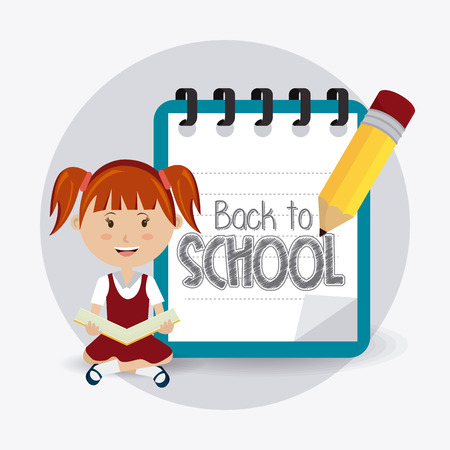 juniors: Back to school design, vector illustration eps 10.