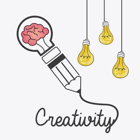 eureka: Creative idea design, vector illustration eps 10. Illustration