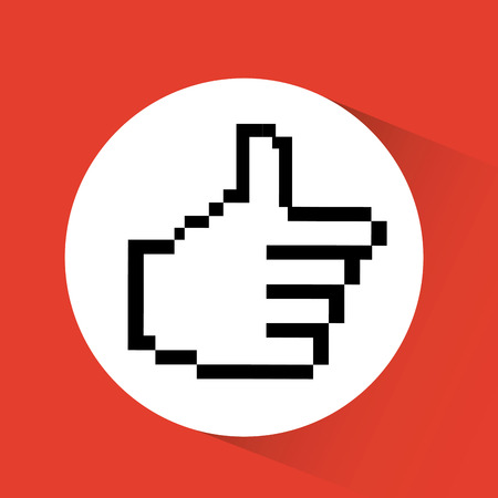 surfing the net: computer icon design, vector illustration eps10 graphic Illustration