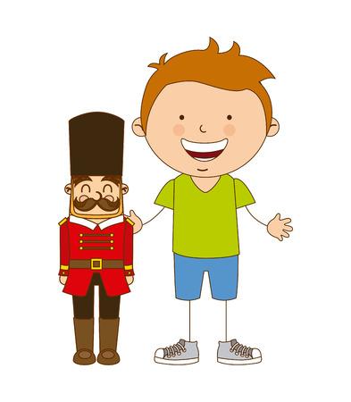 children toys design, vector illustration eps10 graphic