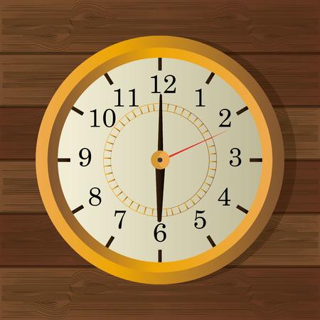 o'clock: Time digital design, vector illustration eps 10.