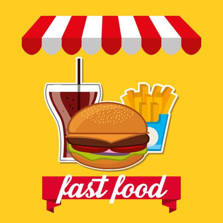 food shop: fast food design, vector illustration eps10 graphic