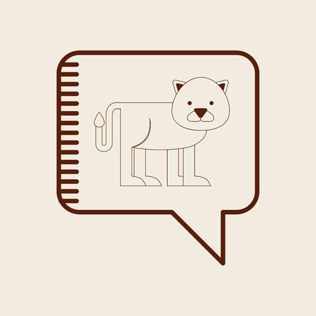 animal icon: animal icon design, vector illustration eps10 graphic