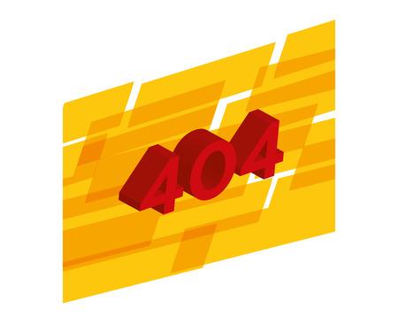 error: 404 error design, vector illustration eps10 graphic