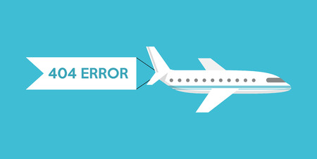 alert ribbon: 404 error design, vector illustration eps10 graphic