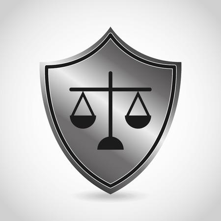 equilibrium: justice icon design, vector illustration eps10 graphic