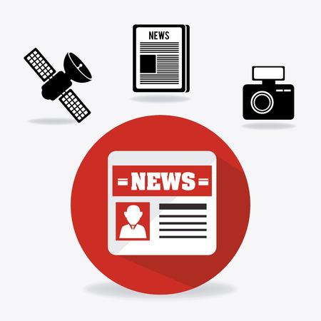 journalism: Journalism digital design, vector illustration eps 10.
