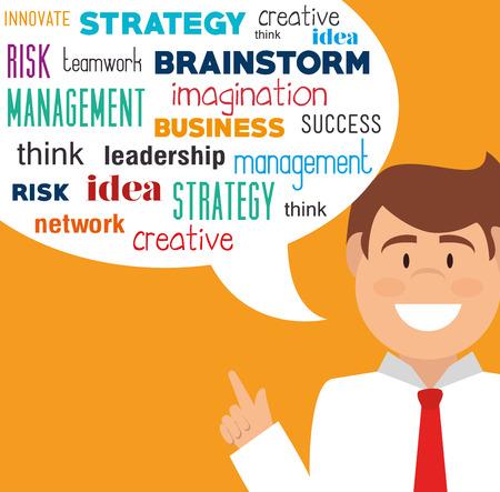 planificacion estrategica: Diseño estratégico de planificación, ilustración vectorial eps 10.