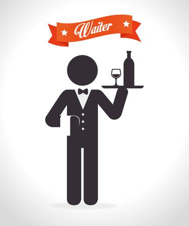 gastronomy: Restaurant digital design, vector illustration eps 10.
