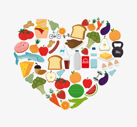 food and drinks: Food design, vector illustration eps 10.