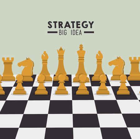 strategic planning: Strategic planning design, vector illustration eps 10.