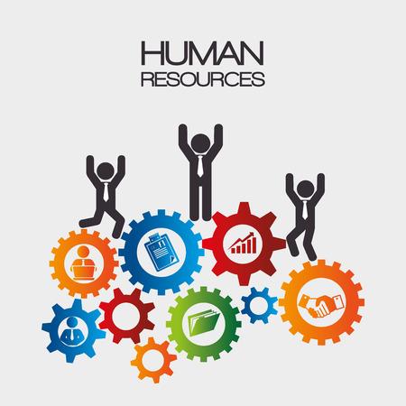 Human resources design, vector illustration eps 10. Stock Vector - 42059905