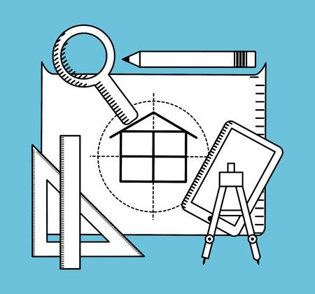 construction concept: construction concept design, vector illustration eps10 graphic Illustration