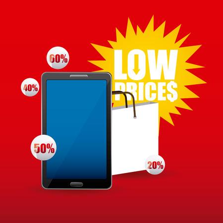 commerce: tag commerce design, vector illustration eps10 graphic