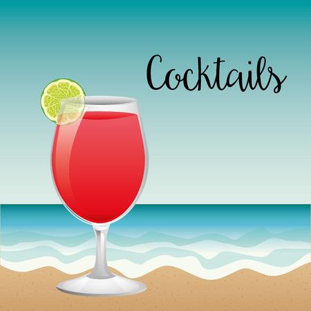 cocktail drink: cocktail drink design, vector illustration eps10 graphic
