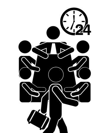 teamwork cartoon: human activity design, vector illustration eps10 graphic