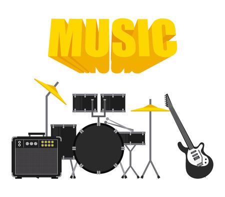 music lyrics: diseño de la música en línea, ilustración vectorial eps10 Vectores