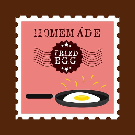 homemade: homemade food design, vector illustration   graphic