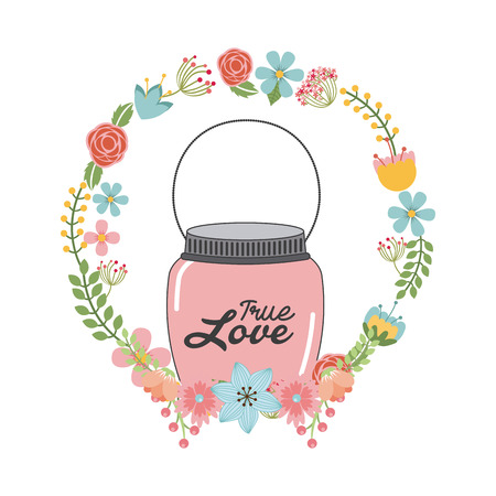 canning: mason jar design, vector illustration   graphic