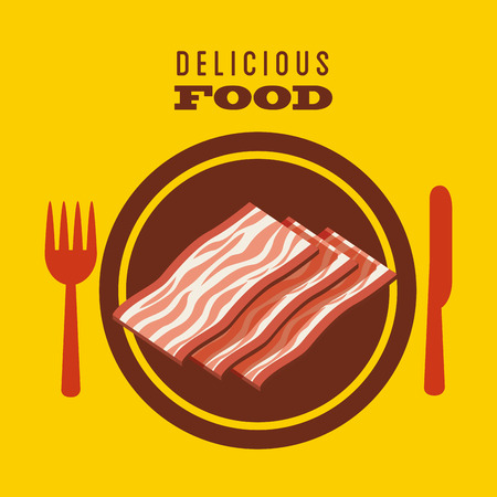 fresh meat: fresh meat design, vector illustration  graphic