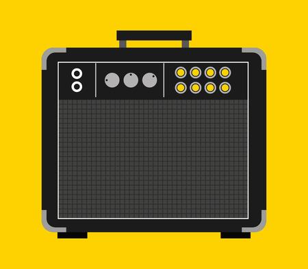 letras musicales: diseño de la música en línea, ilustración vectorial gráfico