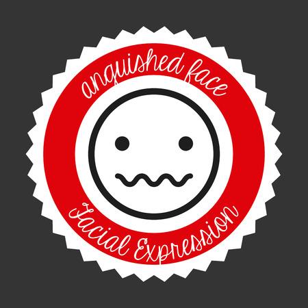 facial expression: facial expression design, vector illustration   graphic