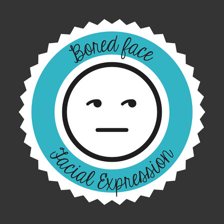 gesichtsausdruck: facial expression design, vector illustration   graphic
