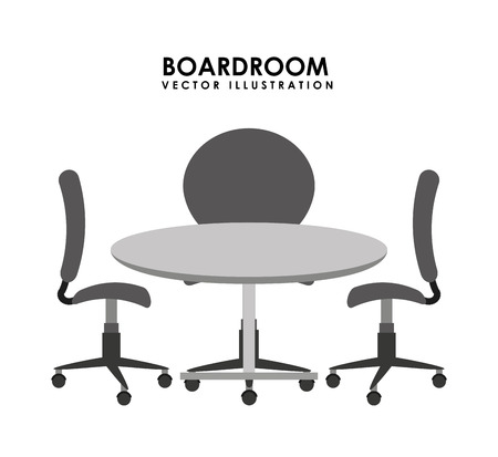 boardroom: boardroom design, vector illustration eps10 graphic