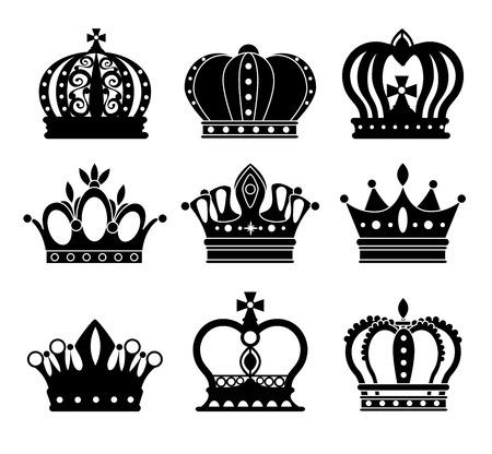 crown: Crown digital design, vector illustration eps 10.