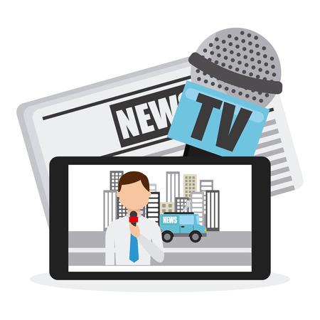 速報ニュース デザイン、ベクトル図 eps10 グラフィック  イラスト・ベクター素材