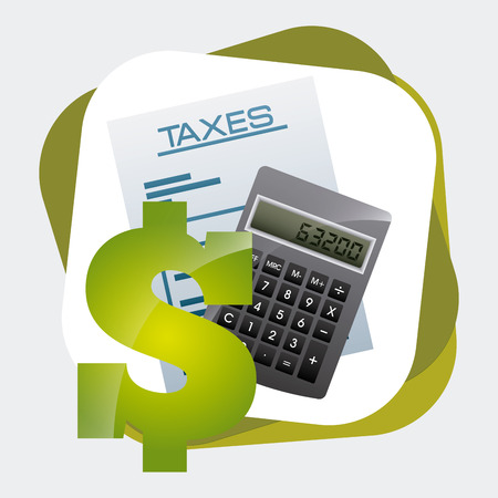 irs: taxes concept design, vector illustration eps10 graphic