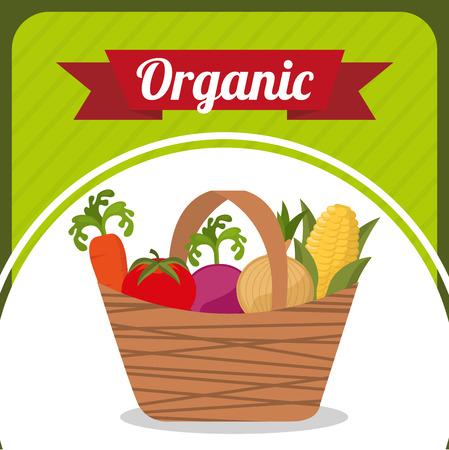vegatables: fresh vegetables design, vector illustration eps10 graphic