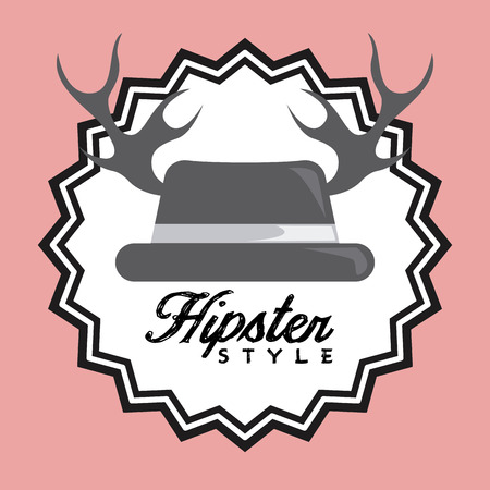 chunk: hipster style design, vector illustration eps10 graphic