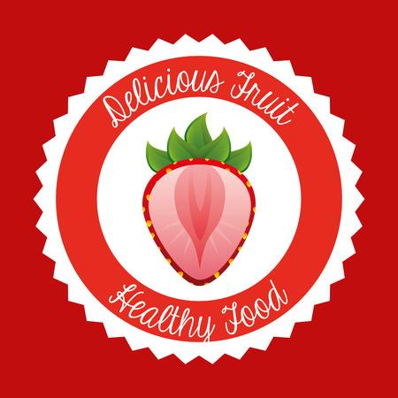 delicious: delicious fruit design  Illustration